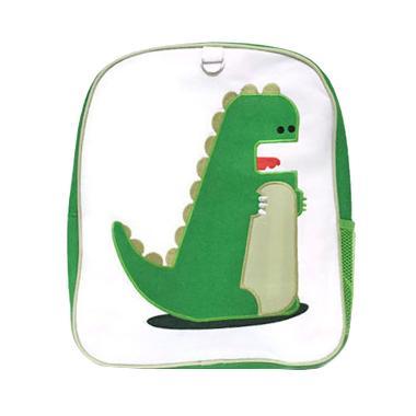 Becks Dino Green Backpack Anak