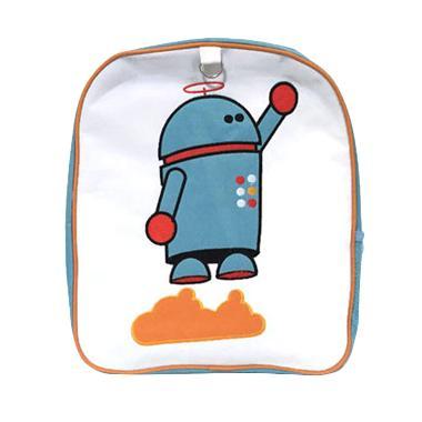 Becks Robot Blue Backpack Anak