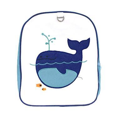 Becks Whale Blue Backpack Anak