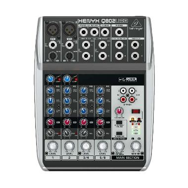 Behringer Q-802 USB Mixer Audio