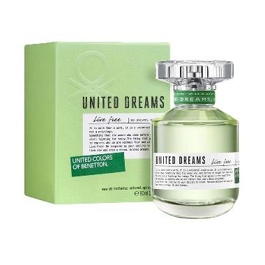 Benetton United Dreams Love Your Self EDT Parfum Wanita [80 ML]