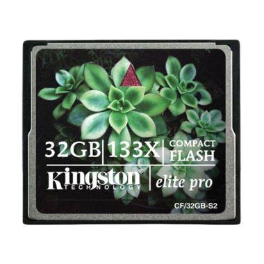harga Kingston Compact Flash Elite Pro Memory Card [32GB/133x] Blibli.com