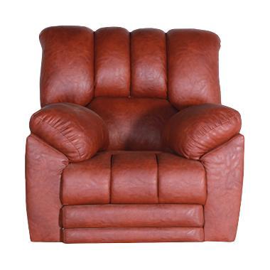 Best Furniture Wellington's Livina  ... kan Brown Red Sofa Santai