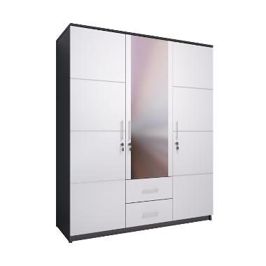 Best Furniture Whitty Lemari Pakaian [3 Pintu]
