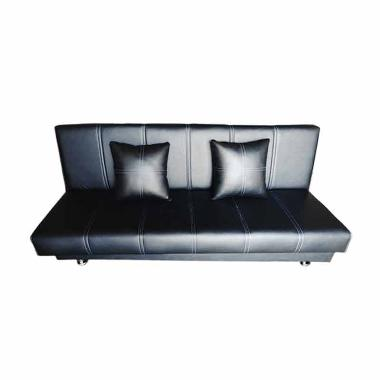Wellington's Liney Sofa Ranjang - Hitam