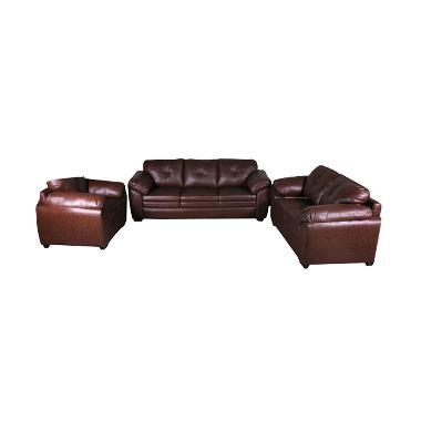 Best Furniture Wellington's 321 Meulbourne Brown Set Sofa