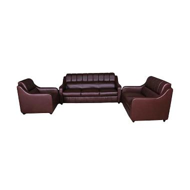 Wellington's Sofa Jupiter 321DDK Safira Coklat D.Brown