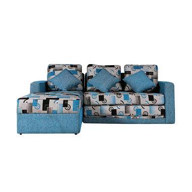 Wellington's Sofa L Bed Manzoni Biru