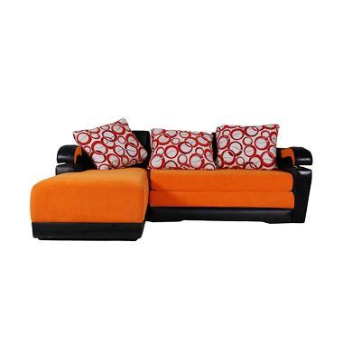 Wellington's Sofa L Merkurius Orange