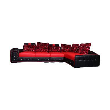 Wellington's Sofa L President 21 Osc Merah Hitam