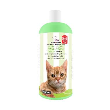 BIS Flea & Tick Shampoo for Cat [200+50 mL]