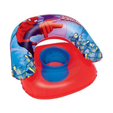 Bestway 98008 Childs Chair Spiderman Sofa Angin Anak - Red