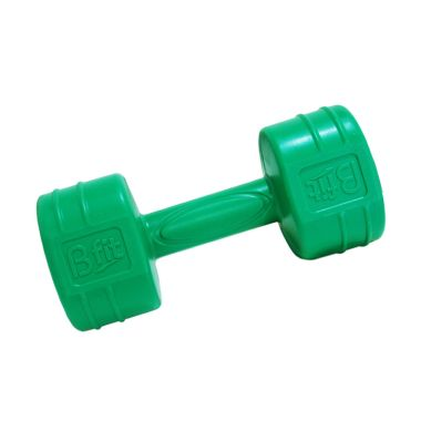 BFIT Cement Dumbell Green Barbel [2 ...