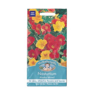 Mr Fothergill's Nasturtium Alaska M ...
