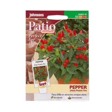 Johnsons Seed Pepper Prairie Fire M ...
