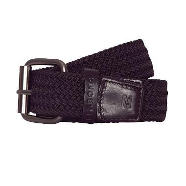 Billabong Braided Leather Belt 9652659 BK1 Ikat Pinggang Pria