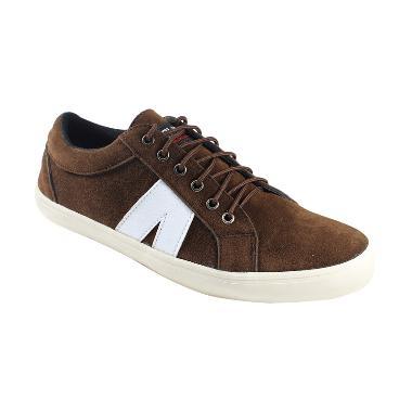 Black Master ARLX Low Casual Sepatu Pria - Brown