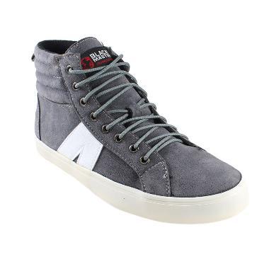 Black Master ARLX Sepatu Sneakers Pria - Grey