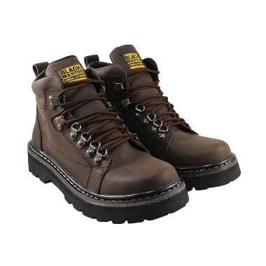 Black Master Armoy Kulit Asli Sepatu Boots Pria - Br... Rp 435.000. (1). 1  penawaran lain ... a63be114d1