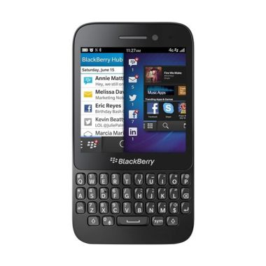 BlackBerry Q5 Smartphone - Hitam