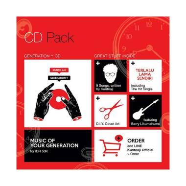harga Kunto Aji Generation Y Album CD Pack Blibli.com