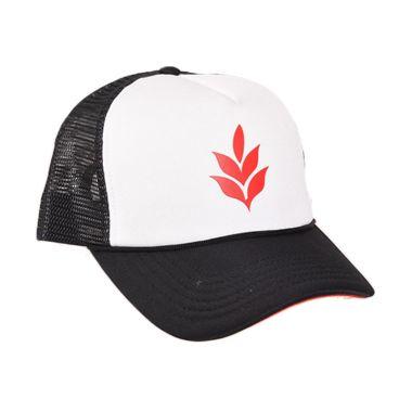 Musica Studios Geisha Trucker Hat Hitam Putih Merchandise