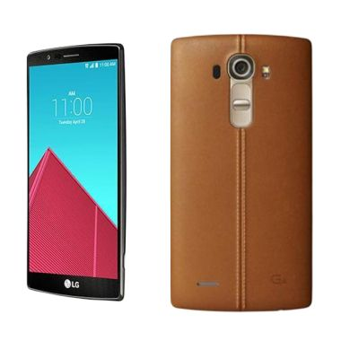 LG G4 H818P Leather Smartphone - Brown