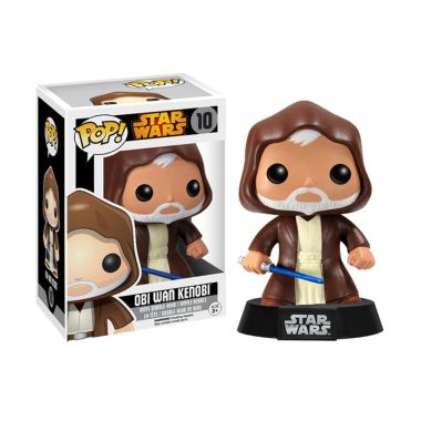Funko POP Star Wars Obi Wan Kenobi 6043 Mainan Anak