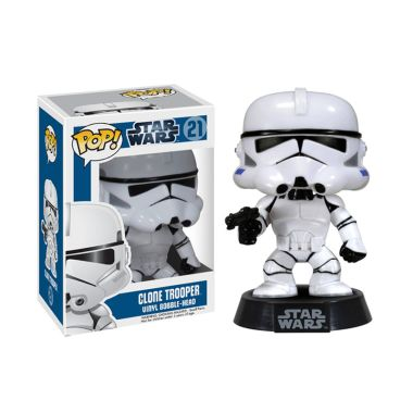 Funko POP Star Wars Clone Trooper 2681 Mainan Anak