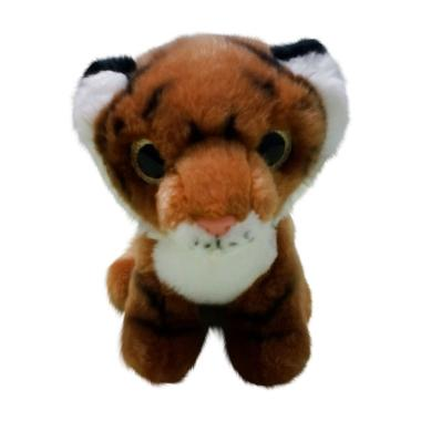 Boneka Murah Lucu Boneka Anak Harimau - Coklat