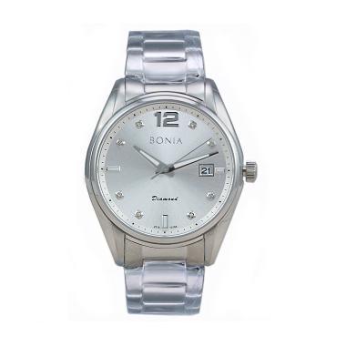 Bonia BN10186-1315 Jam Tangan Pria - Silver