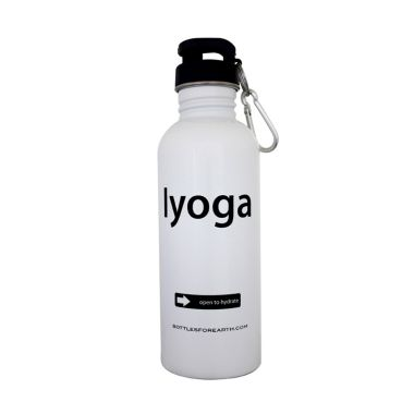 Bottles For Earth I Yoga White 750 ml