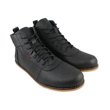 Bradley's Brodo Ceper Sepatu Boots Pria - Black