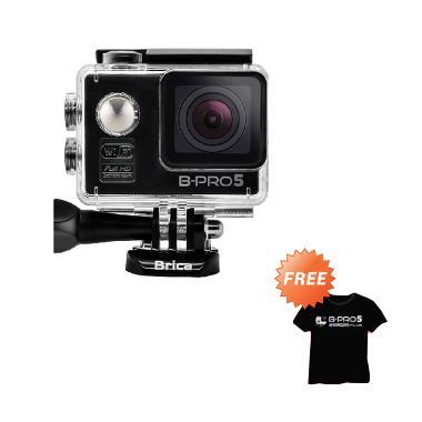Brica B-Pro 5 Alpha Edition Black Action Kamera + Free Kaos Brica