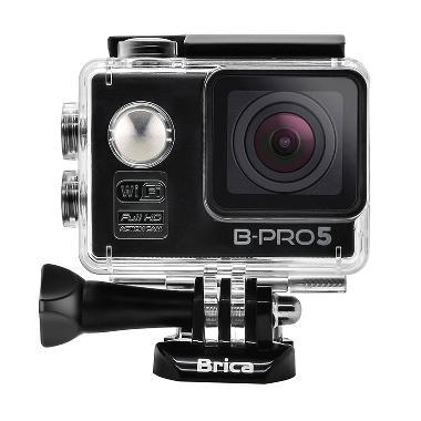 Brica B-PRO 5 Alpha Edition Hitam WiFi Action Camera