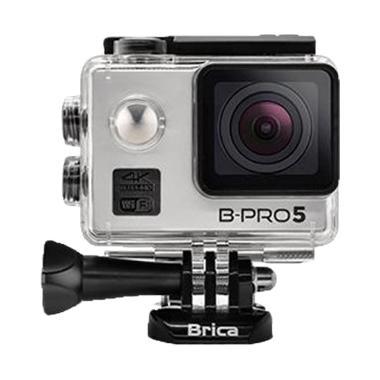 Brica B-Pro 5 Alpha Edition II 4K Action Camera - Silver