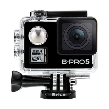 Brica B-PRO 5 Alpha Plus Action Camera - Black