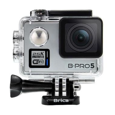 Brica B-Pro 5 Alpha Plus WiFi Silver Action Camera