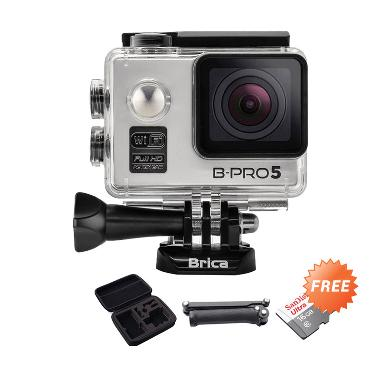 Brica B-Pro Alpha 5 Action Camera - ... y Arm Mount + Medium Case