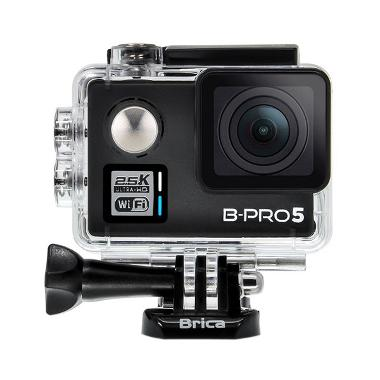 Brica B-PRO5 Alpha Plus Action Camera - Hitam
