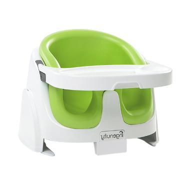Brightstarts Ingenuity Baby Base 2in1 Lime Kursi Makan Anak