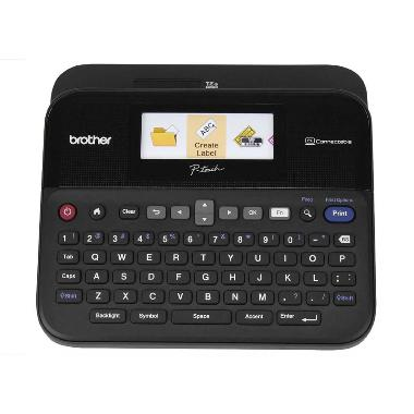 harga Brother PT-D600 Printer Label Maker PC Connectible with Color Display Blibli.com