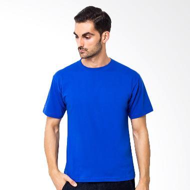 Browncola Polos Kaos Pria - Blue