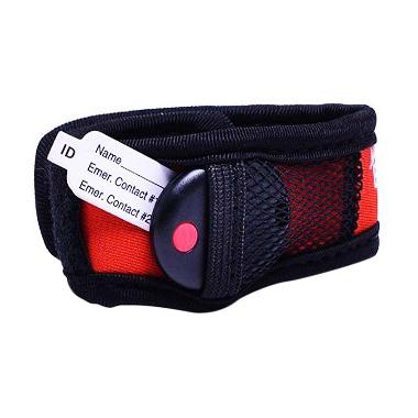 Buddy Tag with Velcro Wristband 110984 Baby Monitor - Red