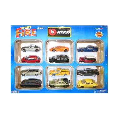 harga Bburago - 1:43 Street Fire 12 Pcs Gift Set Blibli.com