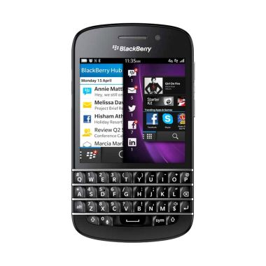 BlackBerry Q10 Hitam Smartphone