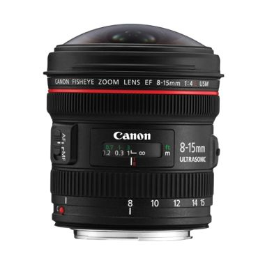 Canon EF 8-15mm f/4L Fisheye USM Le ...