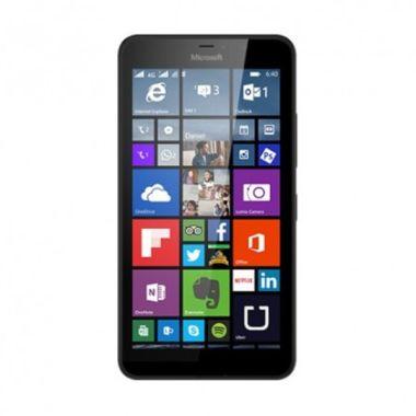 Microsoft Lumia 640 XL Hitam Smartphone [Dual SIM]