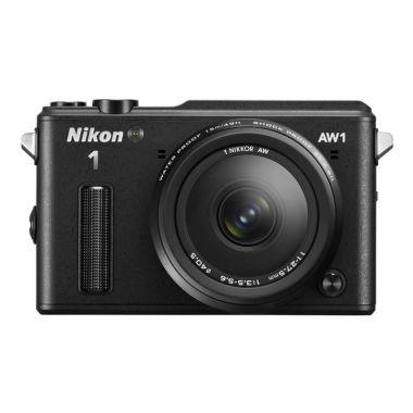 Nikon 1 AW1 Kit 11-27.5 mm Hitam Ka ...