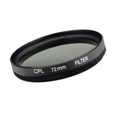 Optic Pro CPL 72mm Hitam Filter Lensa